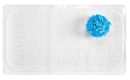 Ability Action Aging In Place Non-Slip Shower Mat Loofah Texture