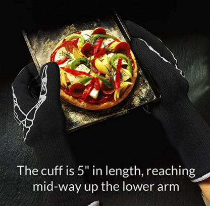 Ability Action Aging In Place Oven Glove with 5 inch long wrist cuff